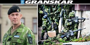 Överste Jonny Lindfors, regementschef i Norrbottens regemente har tillsatt utredningar. Personerna till höger i bild har inget samband med artikeln. Bild: Josefine Karlsson/Försvarsmakten.