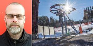 Stefan Edfeldt är en av flera delaktiga i Initiativet Litsbacken. De tar med glädje emot mark- och miljödomstolens besked. Foto: Jonas Solberger/Lars Ljungmark