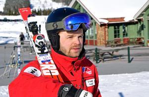 Viktor Funcke pekar på stor efterfrågan på mer avancerad skidåkning..
