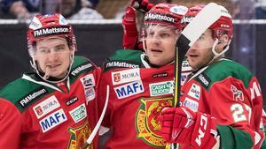 Alexander Hilmerson sågs halta efter matchen i Jalas Arena. Foto: Daniel Eriksson/bildbyrån