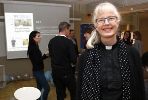 Kyrkoherden Ewa Selin.