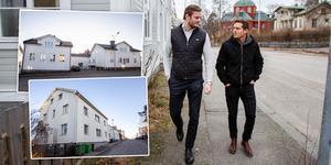 Tobias Österberg och Christian Thunberg driver Östhu fastigheter sedan 2016.