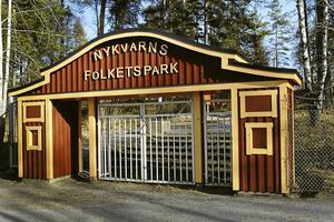 Folkets park i Nykvarn.