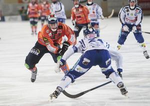 Patrik Nilsson var fortsatt het och hade förutom sitt hörnmål fler fina chanser att öka på sin målskörd.