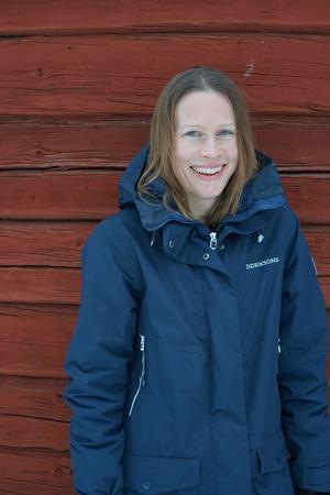 Karin Runesson, Falun, blev egenföretagare och författare. Foto: Privat