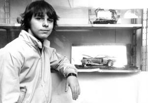 Då 15-årige Lennart Näslund vann modeklassen med sin fint lackade Dodge Charger på mässan 1979.