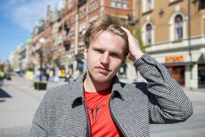 Algot Landin, 19 år, hockeyspelare, Sundsvall: