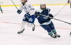 Efter två tunga år i Leksands IF hittade Josefine Ahlin åter glädjen med hockeyn i Sandvikens IK. Foto: Linda Dahlqvist