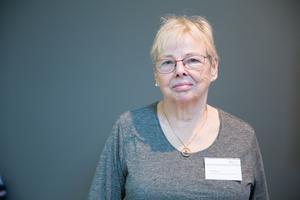 Ulla Rygin (S), pensionär, Glasberga, 76 år.