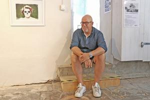 Sedan år 2001 har Ljusstråk arrangerats i Nora kommun. För konstnären Per F T Nilsson är det första gången som han är med i Ljusstråk. Här intill sitt verk