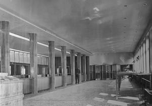Västerås postkontor 1956. Foto: VLT:s arkiv