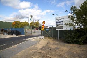 Det var härifrån Bionorrr de miljöfarliga jordmassorna skulle köras till Umeå men dumpåades i Häggdånger.