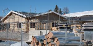 Förskolebygget beräknas stå klart för inflyttning senare i år och när det öppnar kommer andra förskolor runt om i Kolsva att flytta dit.