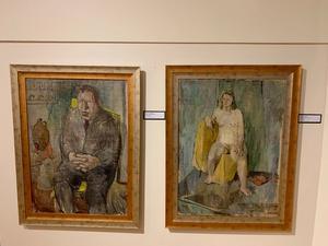 Dessa tavlor målade Bengt Lindström i Chicago 1946. Nu är de tillbaka.