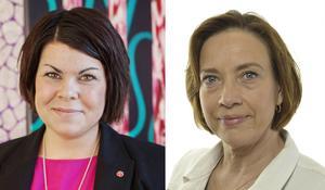 Malin Larsson (S) och Kristina Nilsson (S), skriver att