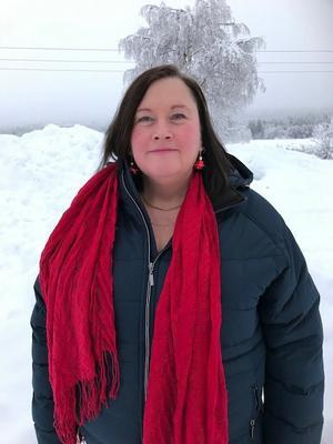 Nämndordförande för sociala myndigheten i norra Dalarna Anette Eriksson (S). Foto: Privat.