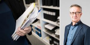 Tomas Högström (M) vill införa anställningsstopp för administratörer i region Västmanland. Bild: arkivbild/pressbild