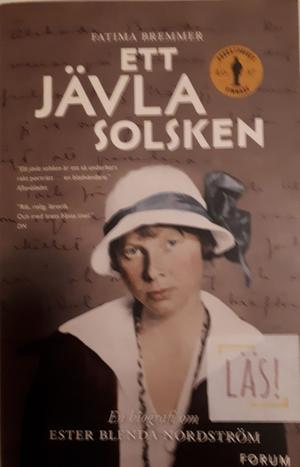 Ett Jävla solsken. Bokens titel.