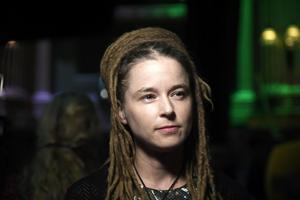 Amanda Lind, kultur- och demokratiminister. Foto: Maja Suslin/TT