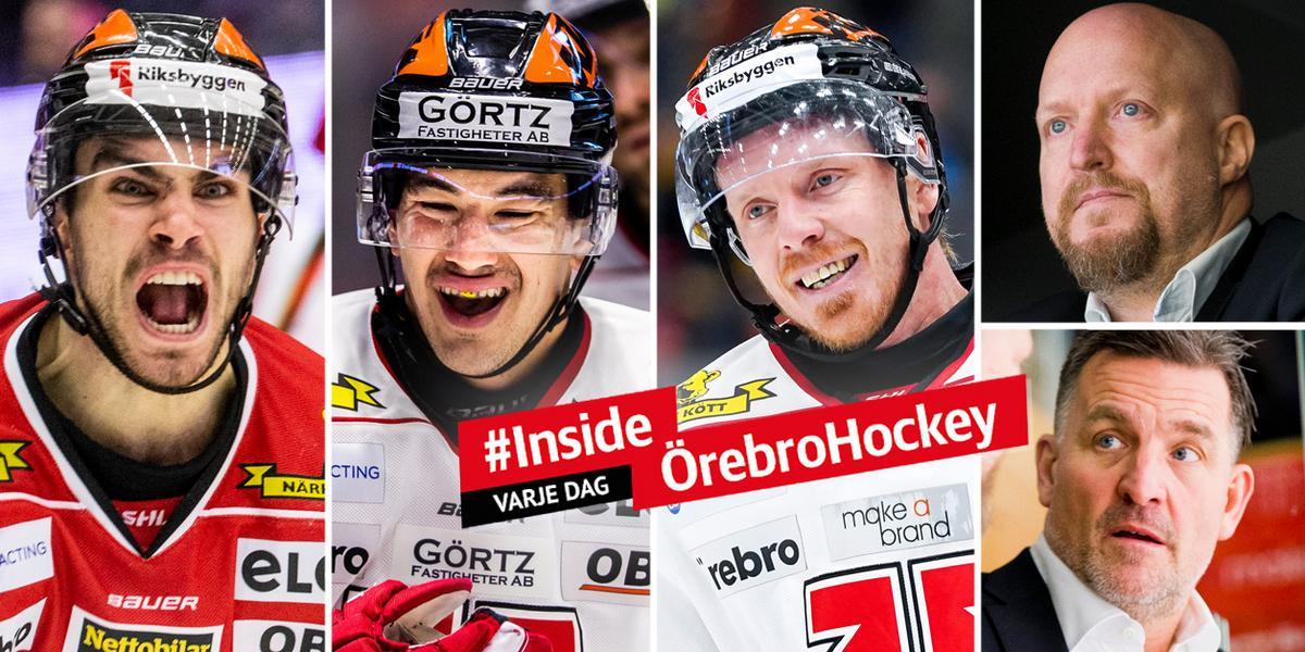 SILLY SEASON: Vem vill du helst behålla i Örebro Hockey? Gör din röst hörd