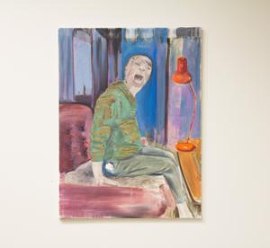 Linus Kanths  starka oljemålning