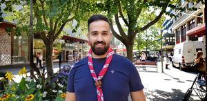 Samer Aso är ordförande för Suryoyo ortodoxa scoutförbundet, SOSF.