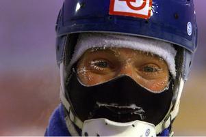 Ola Fredricson på det iskalla världsmästerskapet i Archangelsk 1999. Bild: TT