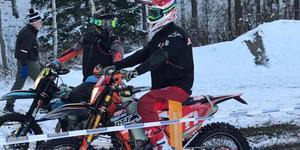 Emil Johansson slutade på plats 18 i Novemberkåsan