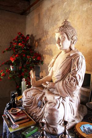 Buddha-figur.