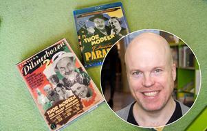 Filmvetaren och manusförfattaren Johan Bergman Lindfors lyfter fram gamla pilsnerfilmer på biblioteket den 10 november.