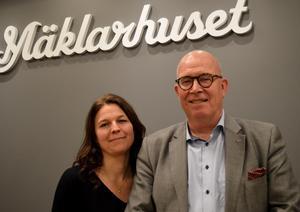 Anna Jonsson och Olle Andersson är nöjda med uppgörelsen.