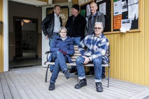 Rolf Blomgren, Lars Nilsson, Björn Engardt, Inger Engardt och Per Öhman berättar att det var många som fann sin stora kärlek i discodunket på Cykelklubben.