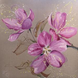 Blomma av Tatjana Grönnestad.