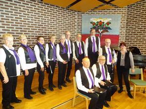 Kommunal Stars med fixstjärnorna Tage Hellman, klarinett, och körledaren Karin Tängdén, piano. Foto: Kjell Larsson