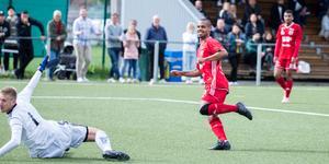 Jakob Eklund gjorde ett av Salas fem mål mot Avesta