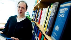 Arne Wahlström, chefsjurist Mittuniversitetet. Foto: Jens L'Estrade