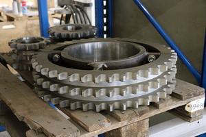 En hel del av produkterna från Kilab är stora och tunga.