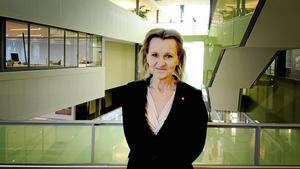Kommunstyrelsens ordförande Boel Godner. Foto: Carina Sigurdsson Löpp