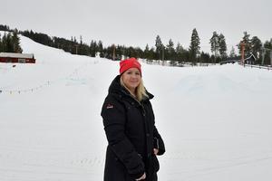 Kattis Lavin Bogg är platschef på Gesundaberget.