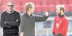 Per Hansson minns när en ung, oprövad engelsman dök upp på Jämtkraft Arena och fick ett besked som blev startskottet på en resa som slutade med SM-guld i höstas.