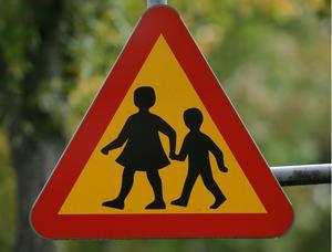En skolbuss kan oftast komma ända hem och hämta barnen, men viktigast av allt är att på en skolbuss åker bara skolbarn!