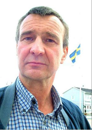 Olle Larson gläds över Sverigedemokraternas framgångar i Härjedalen och Sverige.Foto: Jennie Lie Kjörnsberg