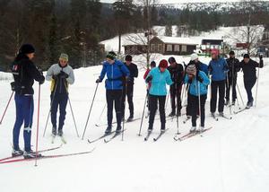 Sverige, Danmark och Peru var representerade i skidåkarkursen som hölls vid Sälens vandrarhem i Gräsheden norr om Sälen.