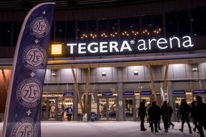 Tegera Arena. Foto: Bildbyrån.