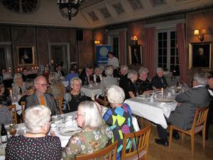 45-åringen firades med middag på Forsbacka wärdshus. Foto: Evelina Jigsäter