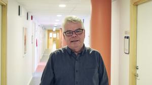 Göran Carlsson i chefskorridoren, regionkontoret i Falun.