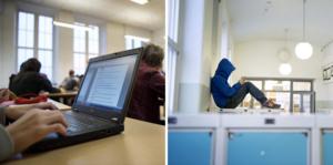 CSN presenterade på torsdagen statistik för hur många elever som blivit av med studiemedel på grund av frånvaro. Bilderna är arkivbilder.  Foto: Jessica Gow/TT