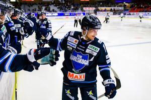 Gustaf Thorell, bäst på isen mot Mora.