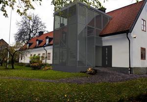 Montage: Ulf Zettersten Ulf Zettersten var kritisk mot planerna på tillbyggnaden.