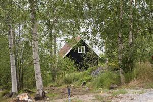 Den här stugan på Nötbolandet i Örnsköldsvik såldes för 3,9 miljoner kronor – och blev veckans dyraste fastighetsköp.